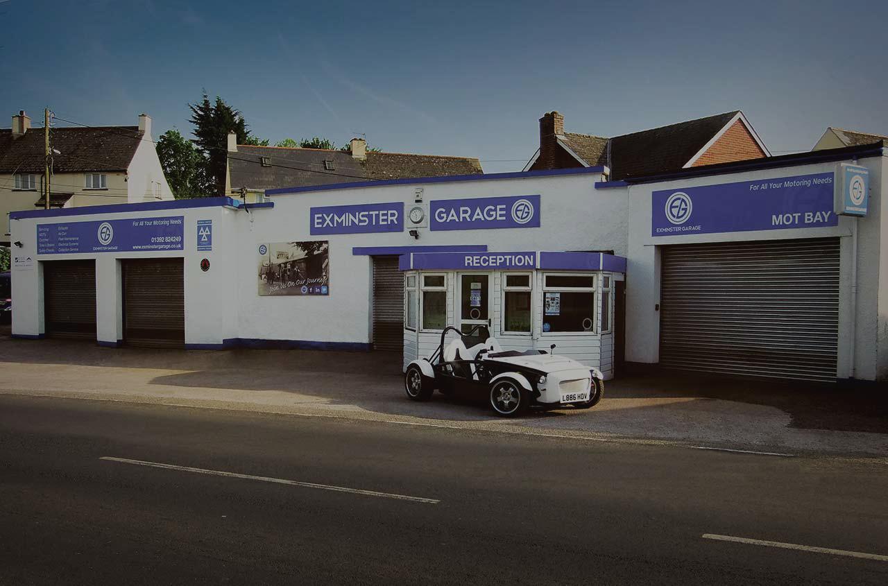 Exeter Garage in Exminster
